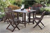 NORTHBEAM Northbeam Eucalyptus Indoor/Outdoor Folding Chairs - Set of 4