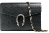 Gucci Women's Dionysus Leather Wallet On A Chain - Black
