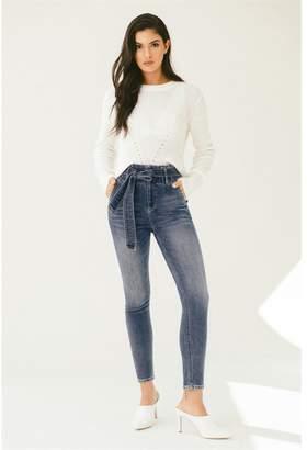 Dynamite Ultra-High Rise Kate Ankle Skinny Jeans Kiara