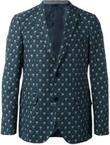 Etro printed two button blazer - men - Silk/Cotton/Wool - 48