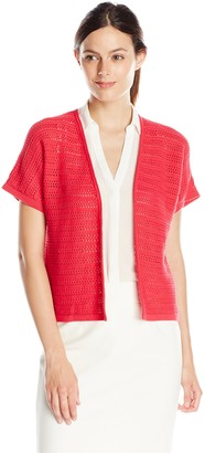 Jones New York Women's Dolman Open Cardigan Sweater