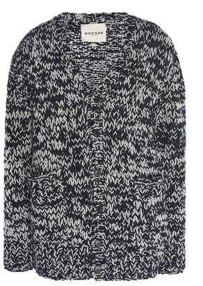 Rochas Handmade Marled Wool Cardigan