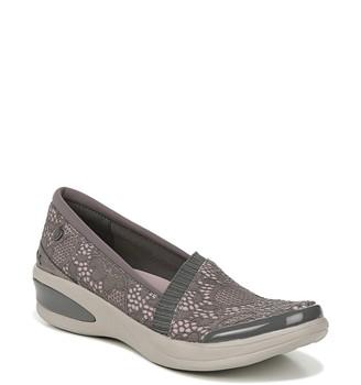 BZees Flirty Slip-On Wedge Sneaker