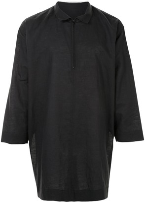 Homme Plissé Issey Miyake Oversized Pullover Shirt