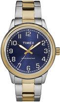Timex Men's Heritage Two Tone Bracelet Watch