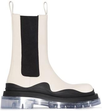 Bottega Veneta Tire mid-calf boots