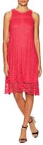 Donna Ricco Lace Midi Dress