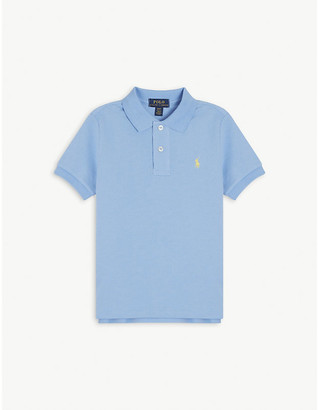 Ralph Lauren Pony logo-embroidered cotton polo shirt 2-7 years
