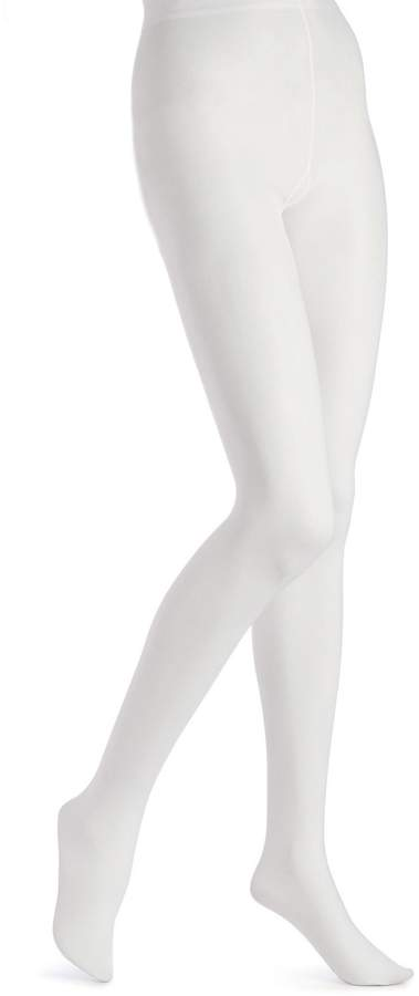 b9ab1258cc2 White Opaque Tights - ShopStyle Canada