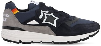 Atlantic Stars Polaris Suede & Nylon Running Sneakers