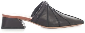 Anna Baiguera Pointed Slippers Nappa