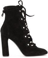 Casadei eyelet lace up boots