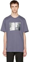 Oamc Blue S.o.s. Tupac T-shirt