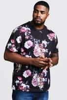 Big & Tall Cherub Print T-Shirt