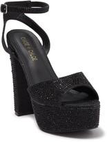 Chase & Chloe Barney Embellished Platform Sandal
