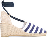 Castaner striped wedge espadrilles - women - Cotton/Leather/rubber - 36