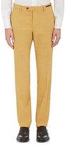 Pt01 Men's San Blas Slim-Fit Stretch Wool-Blend Trousers-Yellow