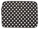 Kate Spade Dot 13-Inch Laptop Sleeve - Black