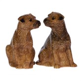 Graham and Green Border Terrier Salt And Pepper Pots