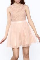En Creme Blush Prom Dress
