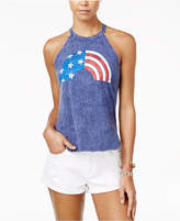 American Rag Juniors' Rainbow Flag Graphic Tank Top, Only at Macy's