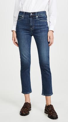 Edwin Elin High Rise Straight Crop Jeans