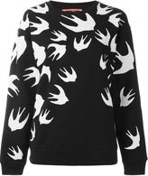 McQ by Alexander McQueen 'Swallow' sweatshirt - women - Cotton/Polyester - XS