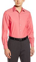 Perry Ellis Men's Non-Iron Travel Luxe Solid Shirt