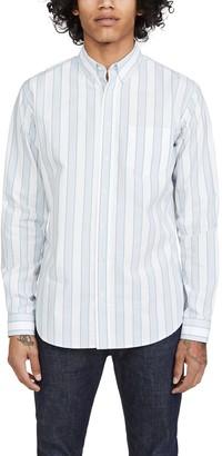 Schnaydermans Schnayderman's Striped Long Sleeve Shirt