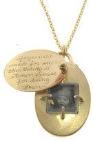 Rosa Pendant in 18 Karat Gold