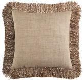 Pier 1 Imports Confetti Fringe Natural Pillow