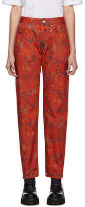 Martine Rose NAPA by Red Leopard Jeans