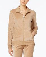 MICHAEL Michael Kors Velour Active Jacket