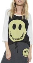 Lauren Moshi Maglan Raglan Shirt