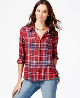 Lucky Brand Long-Sleeve Plaid Shirt