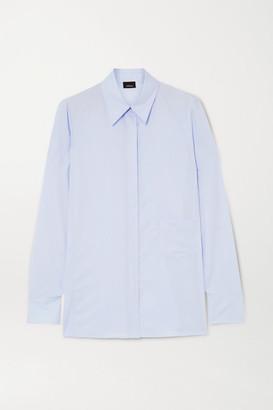 Akris Cotton-poplin Shirt - Blue
