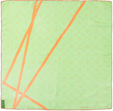 Louis Vuitton Green Robert Wilson Silk Scarf
