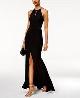 Xscape Evenings Cutout Halter Gown