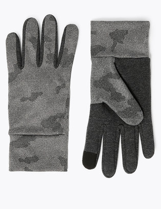 Marks and Spencer Camo Touchscreen Gloves