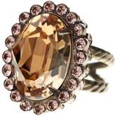 Sorrelli Glamorous Oval-Cut Crystal Ring