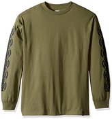 HUF Men's Baser Long Sleeve Tee