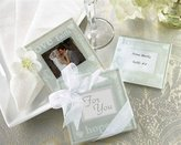 "Kate Aspen Kateaspen ""Good Wishes"" Pearlized Photo Coasters"