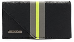 Tumi Province Slg Leather Business Card Case