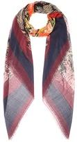 Balenciaga Silk and wool scarf