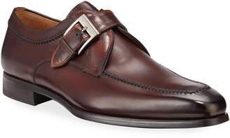 Magnanni Alexander Leather Monk Dress Loafers