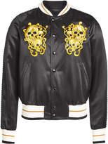 Alexander McQueen Cotton-Silk Bomber Jacket