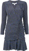 Veronica Beard Ruched Mini Dress