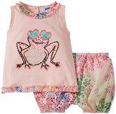Sonia Rykiel Enfant Frog Tank Set (Baby) - Pink-3 Months