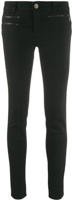 Liu Jo Zipped Detail Denim Jeans