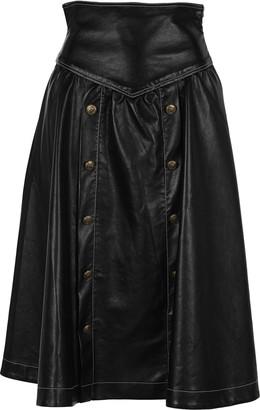 Philosophy di Lorenzo Serafini Philosophy Panelled Flared Skirt